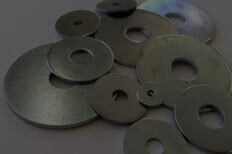 Bright Steel Washers