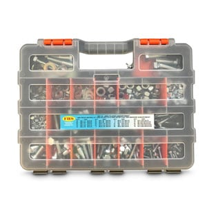 Assortment Fastener Kits - Zinc Plated