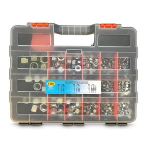Assortment Fastener Kits Zinc Plated
