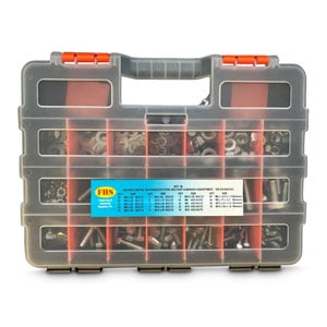 Assortment Fastener Kits Stainless Steel 304 and 316